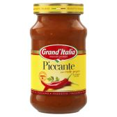 Grand'Italia Piccante pasta sauce with red pepper large