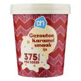 Albert Heijn Gezouten karamel ijs (alleen beschikbaar binnen Europa)