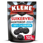 Klene Sugar free salty coin licorice