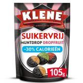 Klene Sugar free licorice fruit coin licorice