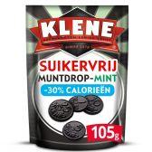 Klene Sugar free mint coin licorice