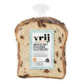 Albert Heijn Gluten free raisin bread (at  your own risk)