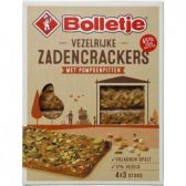 Bolletje Seed crackers with pumpkin seeds