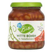 Albert Heijn Biologisch witte bonen in tomatensaus