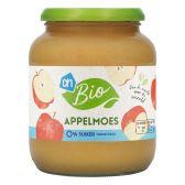 Albert Heijn Biologisch appelmoes 0% groot