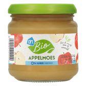 Albert Heijn Biologisch appelmoes 0% klein