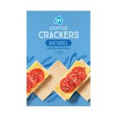 Albert Heijn Luchtige crackers naturel