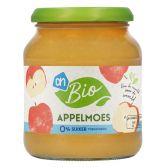 Albert Heijn Biologisch appelmoes 0%