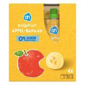 Albert Heijn Apple and banana squeeze bag