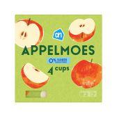 Albert Heijn Appelmoes 0% 4 cups