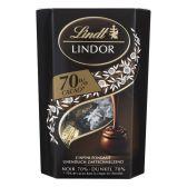 Lindt Lindor cornet 70%
