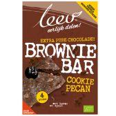 Leev Bio cookiebar brownie pecan & granen