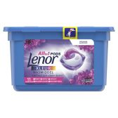 Lenor Amethyst and flowers 3 in 1 washing caps