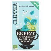 Clipper Breezy green rooibos & mint