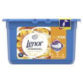 Lenor Golden orchid 3 in 1 washing caps