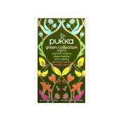 Pukka Organic collection green herb tea