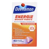 Davitamon Energie boost forte kauwvitamines