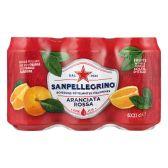 San Pellegrino Aranciata rossa 6-pack