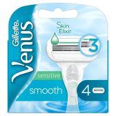 Gillette Venus smooth and sensitive razor blades