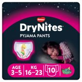 Huggies Dry nites nappy pants for girls (from 3 to 5 year)