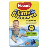 Huggies Little swimmers swimming pants medium size 3-4