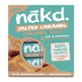 Nakd Salted caramel fruit bar with nuts