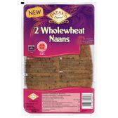 Patak's Wholegrain naans