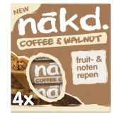 Nakd Coffee and walnuts fruit bar with nuts
