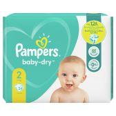 Pampers Baby dry maat 2 luiers carry pack