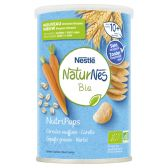 Nestle Naturnes organic nutripops carrots baby snack (from 10 months)
