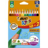 Bic Ecological color pencils for kids