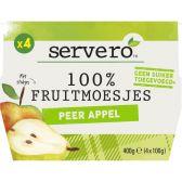 Servero 100% Peer en appel fruitmoes