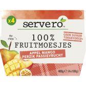 Servero Apple, mango and peach passion fruit sauce