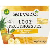 Servero Apple, pineapple and banana fruit sauce