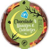 Albert Heijn Chocolate moons and presents