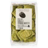 Albert Heijn Pasta fresca ravioli burata pomodoro (voor uw eigen risico)