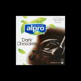 Alpro Dessert dark chocolate 4-pack