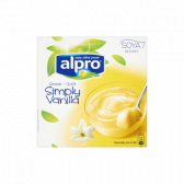 Alpro Dessert vanille 4-pack