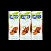 Alpro Sojadrink choco 3-pack