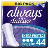 Always Dailies extra protect long plus inlegkruisjes groot