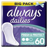 Always Dailies fresh & protect normal inlegkruisjes