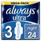 Always Inlegkruisjes ultra night