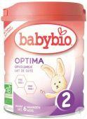 Babybio Optima organic follow-on milk 2 baby formula (from 6 months)