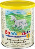 Bambinchen Zuigelingenmelk 1 geitenmelkpoeder (vanaf 0 maanden)