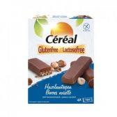 Cereal Glutenvrije en lactosevrije hazelnootrepen met karamelsmaak