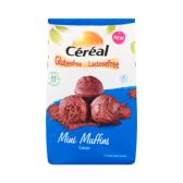 Cereal Glutenvrije en lactosevrije mini cacao muffins