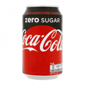 Coca Cola Sugar free can large