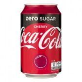 Coca Cola Sugar free cherry can
