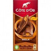 Cote d'Or Bon bon bloc milk chocolate praline tablet with caramel