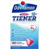Davitamon Multiboost strawberry chewing vitamines (from 12 years)